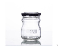 Hot Sauce Glass Container With Tinplate Cap