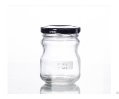 Glass Container With Tinplate Cap