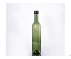Green Color Whisky Bottle With Screw Cap