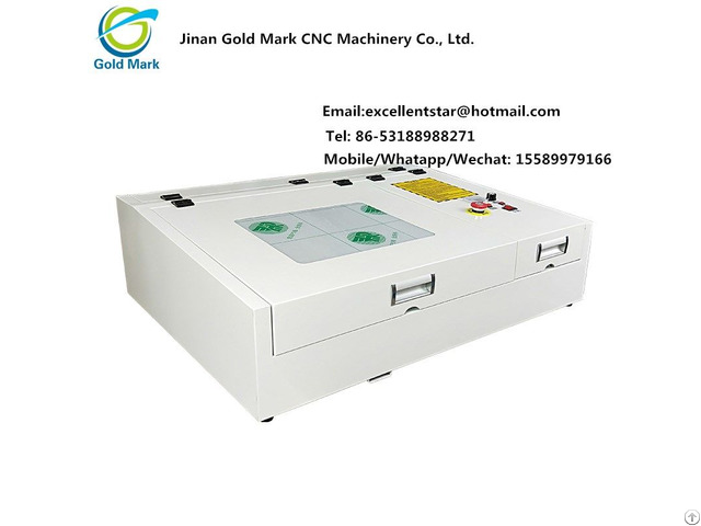 Co2 Laser Engraver Machine Ts4040 For Hot Sale