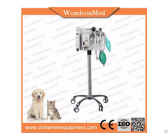 Vet Clinic Table Top Portable Anesthesia Machine For Animal Operation