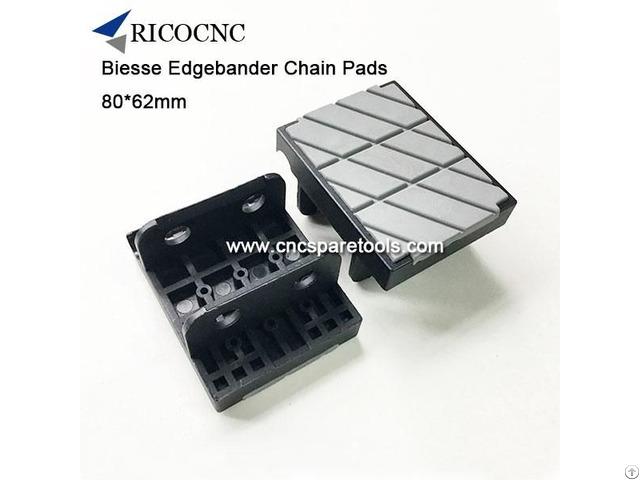 Biesse Edgebander Chain Track Pads For Edgebanding Machine