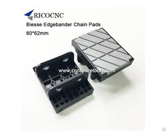 Biesse Edgebander Chain Track Pads For Edgebanding Machine