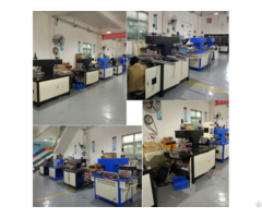 Dongguan Jinyu Clothes Label Making Machine Leather Logo Production Line