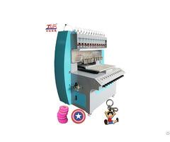 Dongguan Jinyu Full Automatic 1 12 Colors Liquid Pvc Dispensing Machine
