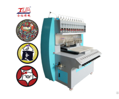 Jinyu Pvc Making The Cup Pad And Needed Dispensing Machine