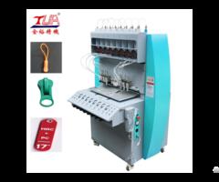 Dongguan Jinyu 8 Color Pvc Injection Zipper Making Machine