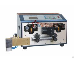 Automatic Flat Ribbon Cable Strip Cut Split Machine