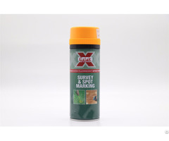 Aerosol Acrylic High Visibility Multi Colors Survey Spot Mark Spray Paint