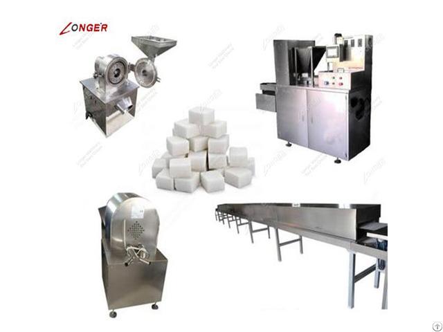 Automatic Sugar Cube Making Machine
