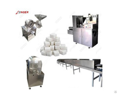 Automatic Sugar Cube Making Machine
