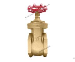 High Pressure Brass Water Gate Valve 3 Inch