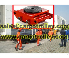 Roller Skids Moving Equipment Easily