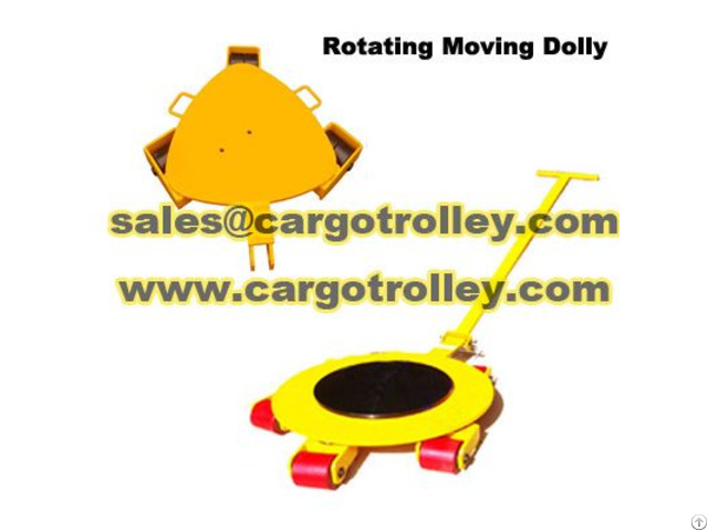 Individual Rollers Adopt On Moving Works