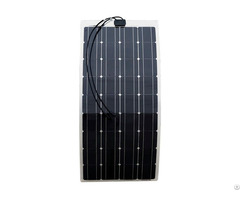 Semi Flexible 100 Watt 12v Solar Panel