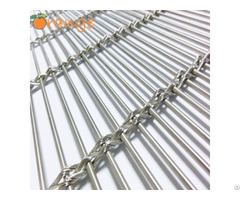 Single Or Multiple Cable Decorative Wall Panel Wire Mesh