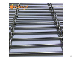 Stainless Steel Cable Rod Woven Architectural Decoration Mesh