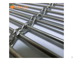 Stainless Steel Architectural Decorative Wire Mesh Wall Cladding Facade