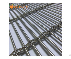 Architectural Facade Stainless Steel Cable Mesh For Interior And Exterior Projects