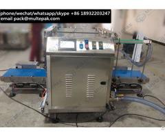 Multepak Full Automatic Vertical Bulk Vacuum Packing Machine For Peanuts Cashew Almonds