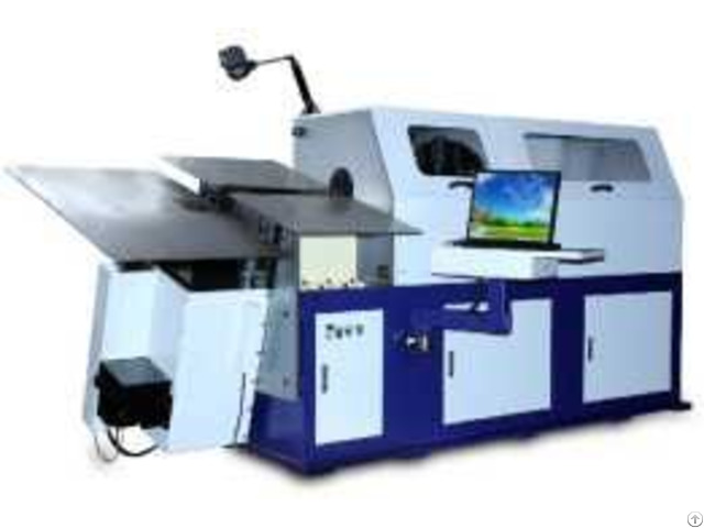 Product 7 Axles 3d Wire Forming Machine For 4 0 12 0mm Wire