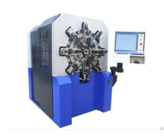 Product 12 Axles Camless Spring Forming Machine For 0 4 2 5mm Wire