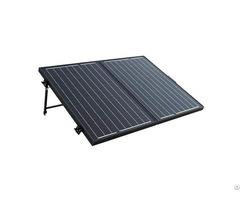 100w 12v Off Grid Monocrystalline Portable Folding Solar Panel Suitcase