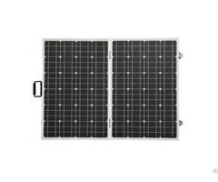 120w 12v Foldable Monocrystalline Solar Panel