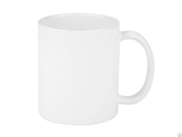 11oz Ceramic White Coated Mug Grade A