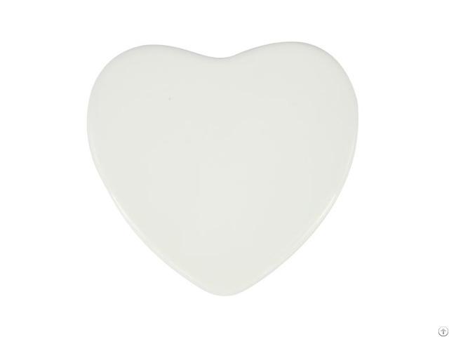 Ceramic Fridge Magnet Heart 6 7 5 9cm