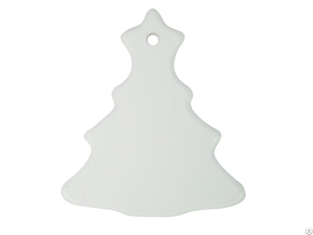 Polymer Small Tree Shape Ornament