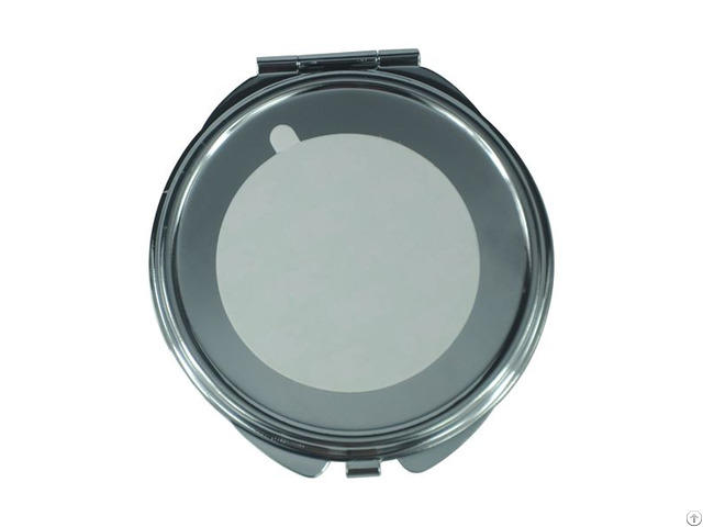 Metal Cosmetic Mirror Thin Round