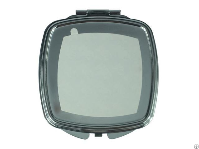 Metal Cosmetic Mirror Round Corner Square Shape