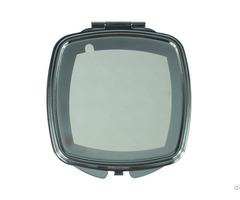 Metal Cosmetic Mirror Round Corner Square Shape