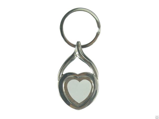 Metal Key Chain Heart