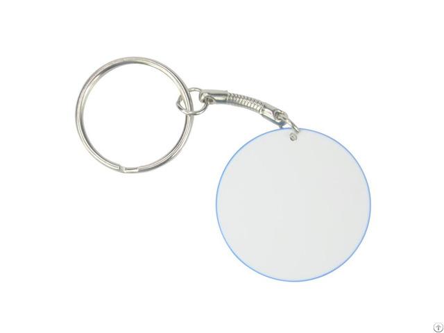 Polymer Round Keychain 39mm