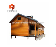Hot Sale China Ready Made Prefabricated Light Steel Villa Home