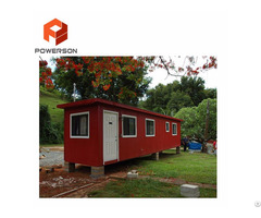 Warm Comfortable Portable Prefabricated Container House Luxury Prefab Homes