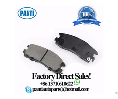 Rear Axle Brake Pad 12510016 D383 Fits Buick Allure Cadillac Allante Chevrolet