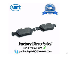 Top Selling Front Brake Pad Set 34116761244 D781 Fits 323i