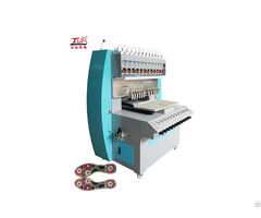 Multi Color Pvc Slippers Upper Plastic Dispensing Machine In The Hot