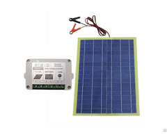 12v 20 Watts Epoxy Solar Panel Kits With 10a Pwm Charge Controller