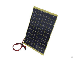 10w 12 Volts Epoxy Solar Panel Module For Car Rv Battery Charging