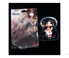 Transparent Heat Sealed Toy Blister Packaging With Print Paper Card