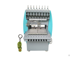 Popular Automatic Pvc Rubber Keychain Making Dispensing Injection Machinery