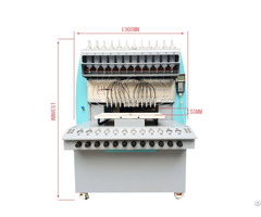 Automatic Pvc Multi Color Zipper Head Manufacturing Dispensing Making Machine