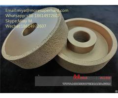 Vacuum Brazed Diamond Grinding Wheel For Cast Iron And Metal In Foundry Miya