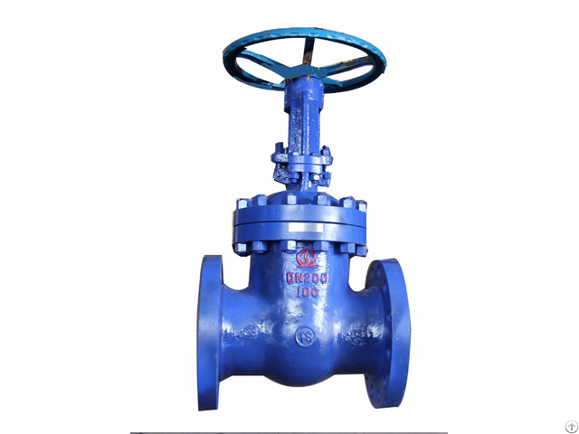 Wedge Gate Valve For Boiler Feedwater And Steam