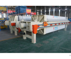 Plate And Frame Type Filter Press For Industrial Sludge Dewatering