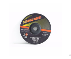 Depressed Center Grinding Wheel And Disc For Mild Carbon Stainless Steel